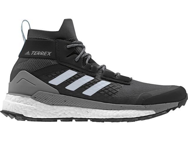 adidas TERREX Free Hiker Calzado Mujer, carbon/blutin/ash grey